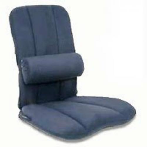 Jobri - BB/L-BL - BetterBack Car Seat Cushion with Adjustable Lumbar Support LumbiPad - Blue -