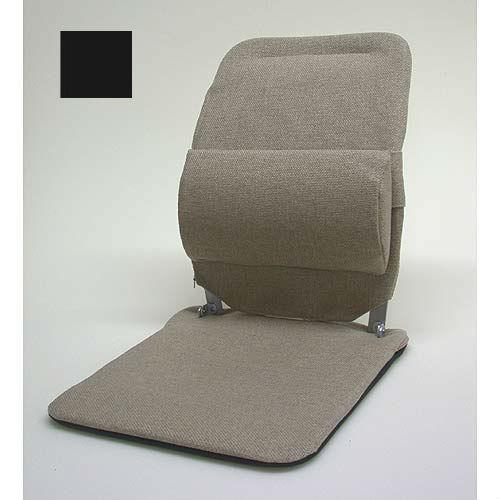Sacro Ease - BR-BLK - Standard Model Lumbar Car Seat Support Cushion - Black - Width - 19 in.