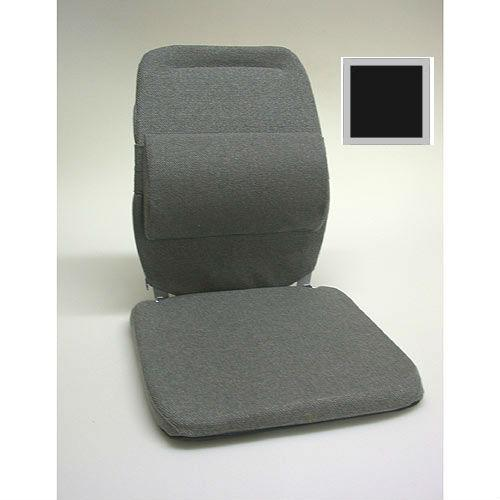 Sacro Ease - BRC-BLK - Deluxe Model Lumbar Car Seat Support Cushion - Black - Width - 19 in.
