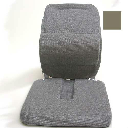 Sacro Ease - BRC-RX-LBRN - Deluxe Model Coccyx Cutour Car Seat Cushion - Light Brown - Width - 19 in.