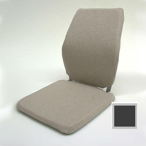 Sacro Ease - BRSCMCF-CHAR - Deluxe Memory Foam Car Seat Back Support Cushion - Charcoal - Width - 15 in.