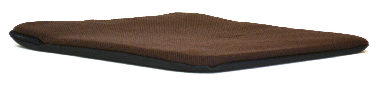 Sacro Ease - RS-BRN - 15 Inch Wide Padded Car Seat Cushion - Brown - 1/2 in. Padding