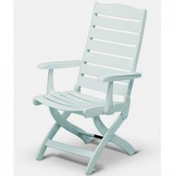 Kettler - 1491-000 - Caribic Highback Chair Folding Pati