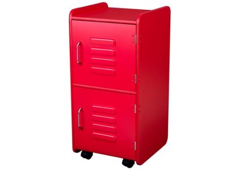 Kids Storage Furniture - Medium Locker - Red - 14322