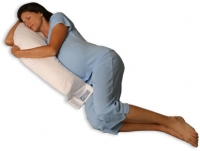 Body Pillow - Snoozer Junior Body Pillow - Premium Cluster Fiber Filler SZR3002 - White