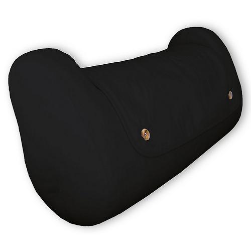 QBC Bundled Cequal Bedlounge Bed Reading Pillow - Hypoallergenic - Navy -Plus Free QBC Ergonomics eBook