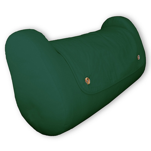 QBC Bundled Cequal Bedlounge Bed Reading Pillow - Hypoallergenic - Natural -Plus Free QBC Ergonomics eBook