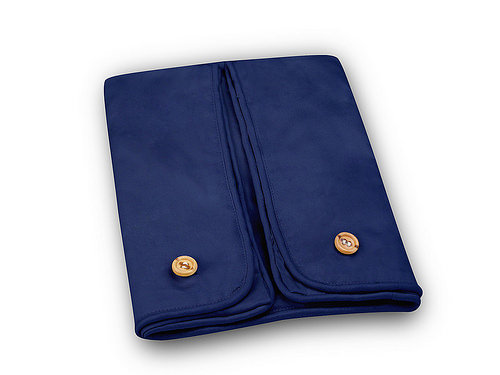 Cequal Leglounger Leg and Knee Pillow Cover Navy Cotton