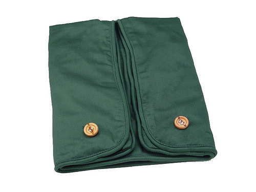 Cequal Leglounger Leg and Knee Pillow Cover Green Cotton