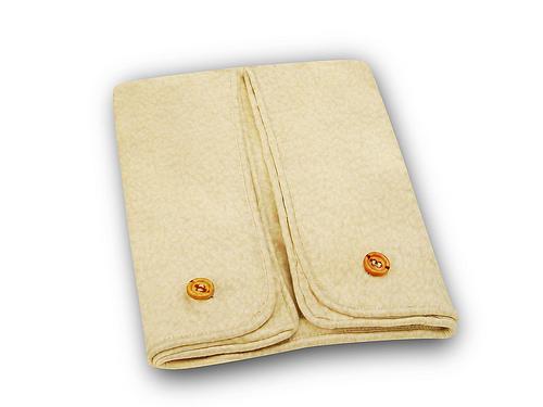 Cequal Leglounger Leg and Knee Pillow Cover Natural Fleece