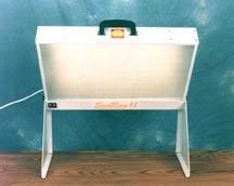 SunRay II SAD Light Therapy Light Box Winter Blues
