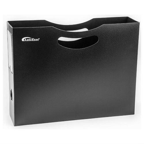 QBC Bundled AutoExec Hanging File Portable Car Organizer Holder - Model 16002 - Plus Free QBC Car Desk Guide