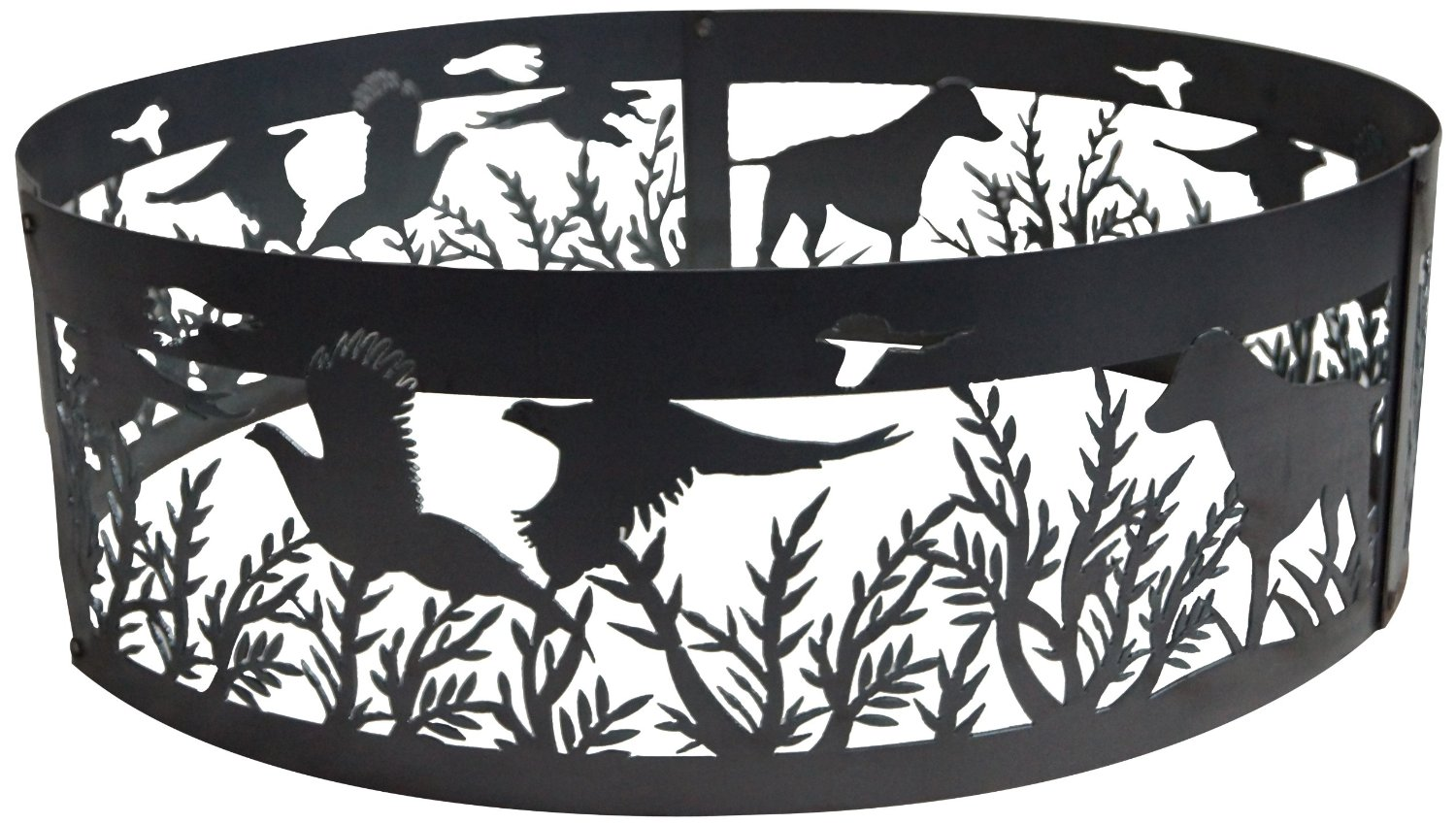 38 Inch Fire Ring - Dog N Pheasant Steel Fire Pit