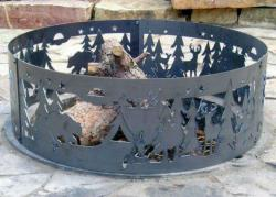 48 Inch Fire Ring - Northwoods Steel Fire Pit Ring