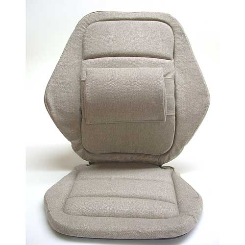 Sacro Ease - 2000SE-BLK - Deluxe 2000 Lumbar Car Seat Support Cushion - Black - Width - 20 in.