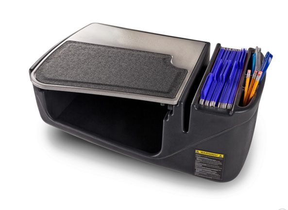 Car Desk - AutoExec Efficiency GripMaster Mobile Office Work Station - AEGRIP-02