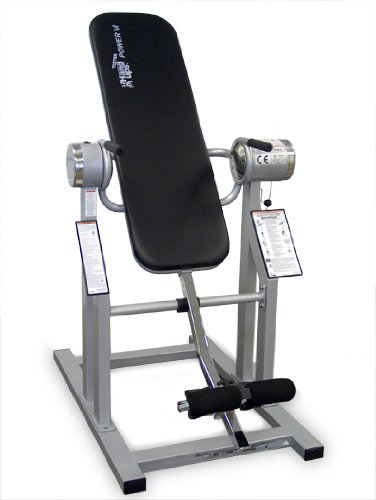 Electric Powered Inversion Table - Teeter Power VI Traction Inversion Table Silver