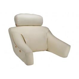 BedLounge Reading Pillow - BedLounge -Regular Size, Cott