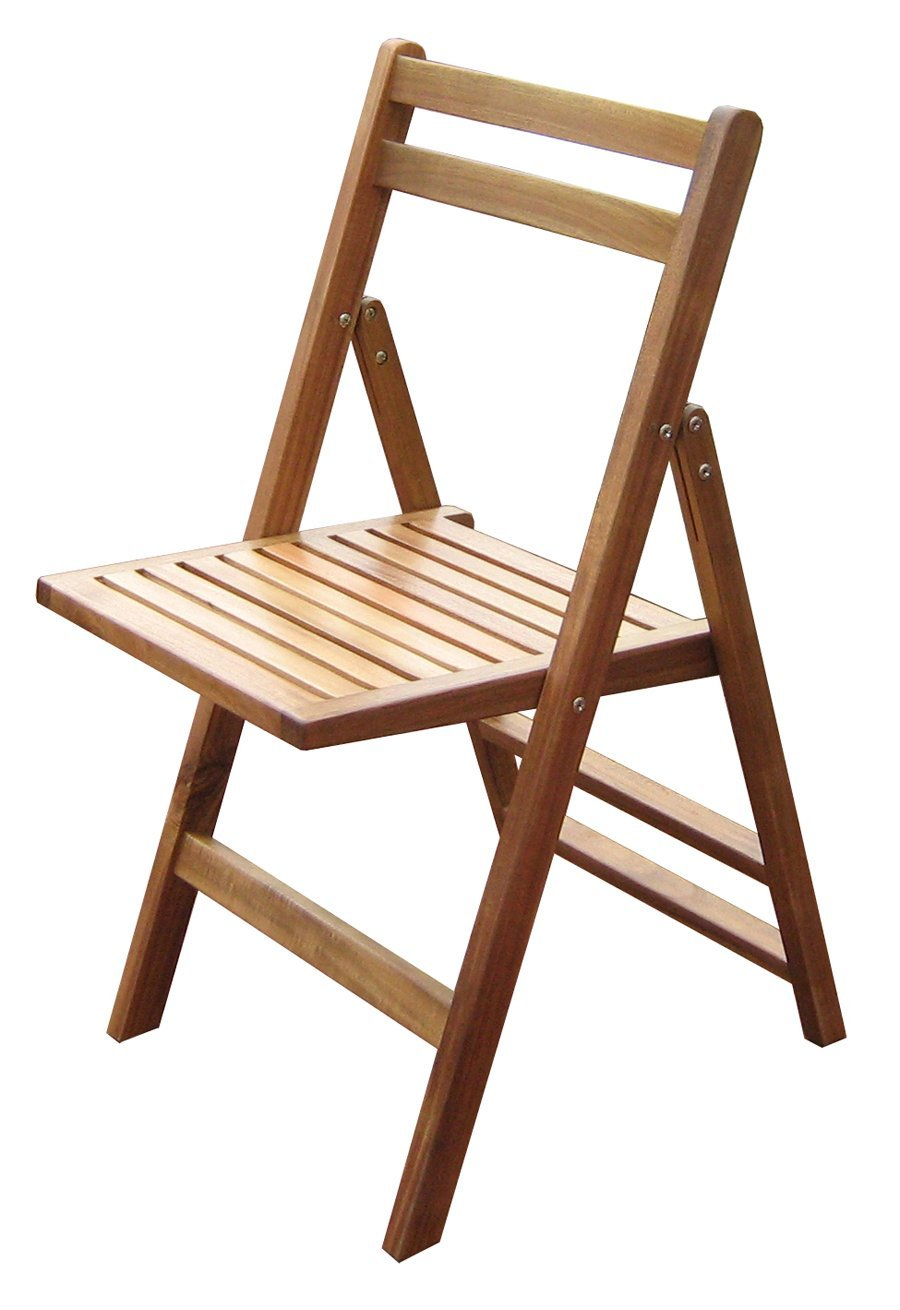 Outdoor Folding Chairs - MPG-TBS01-CH Four Matching Wood