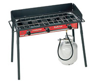 Camp Chef - TB-90LW - Tahoe Gas Grill 3 Burner Propane Cooking System - Red & Black - 90k BTU