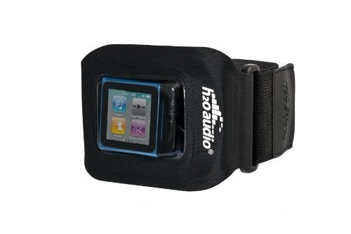H2O Audio Amphibx FIT Waterproof Armband Small Multimedia Case for iPod and MP3 (Black/Clear) Players & Accessories
