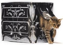 KattySaks - The Kitty Litter Box Cover - Le Dresser
