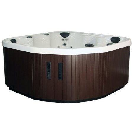 Aura 29 Jet 120 Volt Interior Plug and Play Operation Hot Tub with Hard Cover