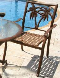 Patio Dining Arm Chair