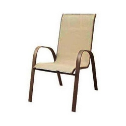 Courtyard Creations KTS021W Woodfield Stacking Chair, 29