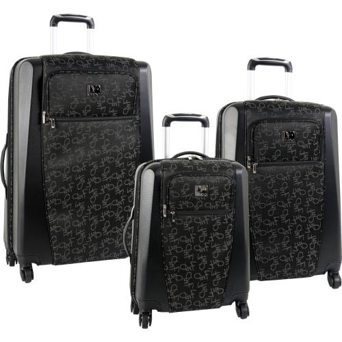 Diane Von Furstenberg Luggage Signature Hybrid 3 Piece Set